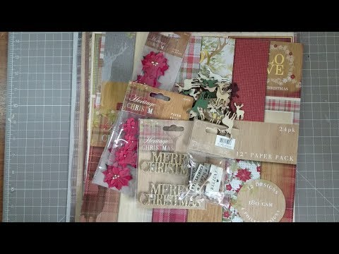 Craft Haul & Christmas  - Stampin'Up!, Crafter's Companion, Hobbycraft