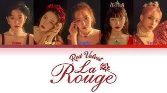 Red Velvet 레드벨벳   - La Rouge 라루즈 (Han/Rom/Eng) Color Coded Lyrics/가사