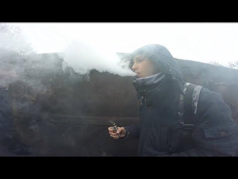 Парим ВЕЙП (SMOKE VAPE) на товарном поезде, и военный поезд с тяжелой техникой