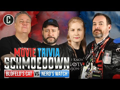 Blofeld's Cat VS Nerd's Watch  Movie Trivia Schmoedown