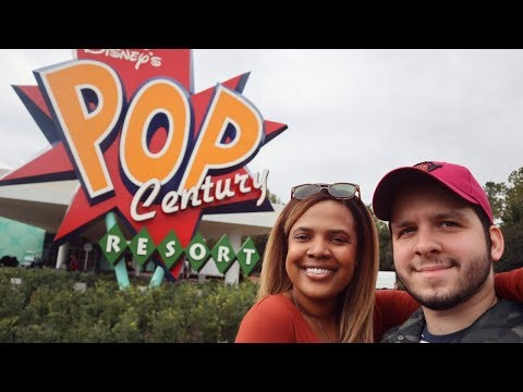Our Stay At Disney's Pop Century Resort! 2019 (Renovated Room Tour)