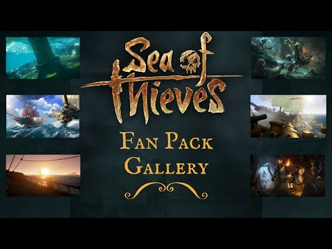 Sea of Thieves Fan Pack Gallery - NEW Items!