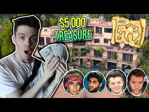 $5,000 TREASURE HUNT IN THE FAZE HOUSE! (insane)