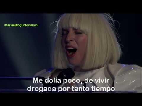 Lady Gaga - Dope (Subtitulado Al Español) (Live)