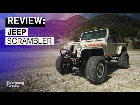 The $150,000 Jeep Scrambler Is Tricked Out to Tackle Any Terrain