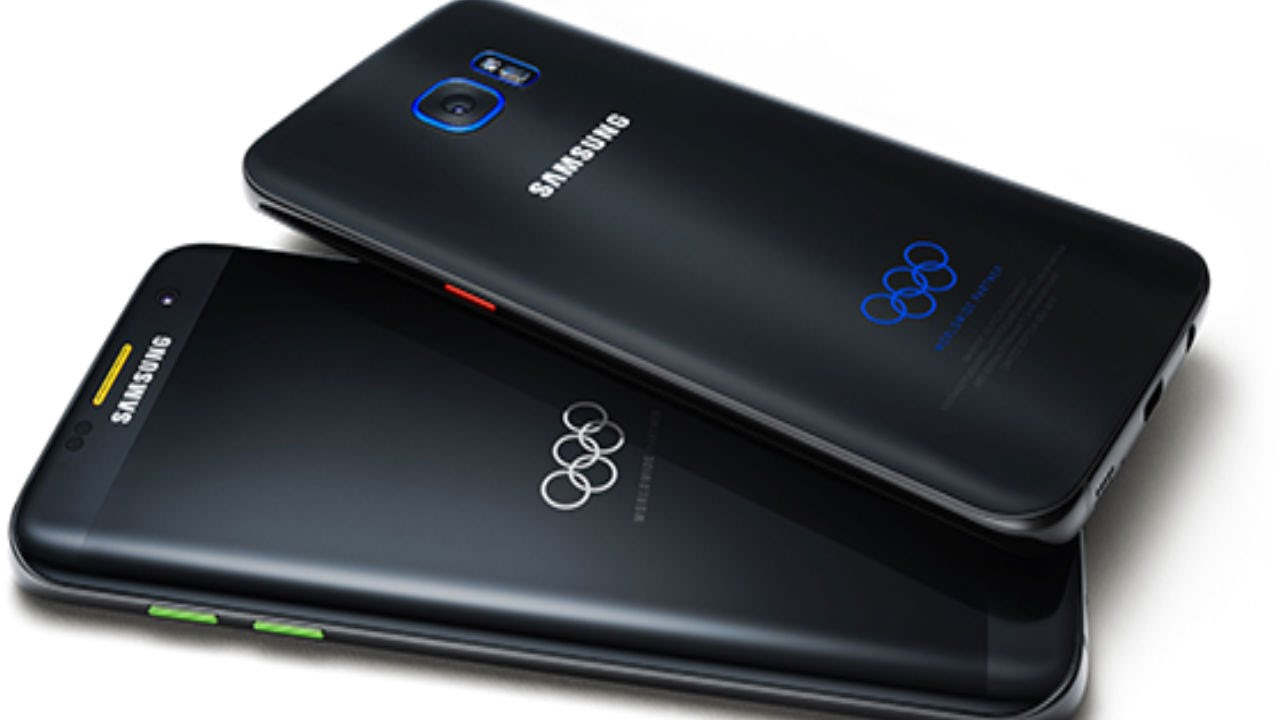 Samsung's Galaxy S7 edge Olympic Games Limited Edition ...