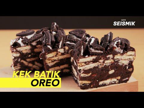 Kek Batik Oreo - YouTube