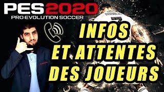 🔴 INFOS & ATTENTES PES 2020 !!!