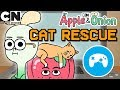 Apple & Onion | Cat Rescue Game | Cartoon Network