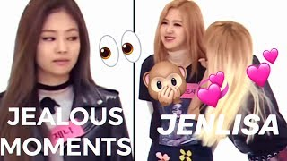JENLISA JEALOUS MOMENTS (CUTE)