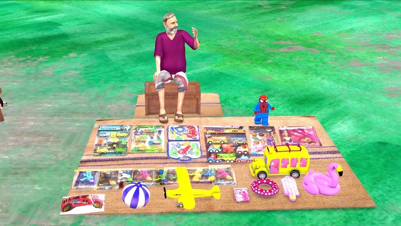 गरीब Vs आमिर का खिलौना Garib Vs Amir Ka Khilona Dukaan Comedy Video Hindi Kahaniya New Comedy Video