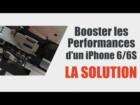 Votre iPhone 6/6S rame ? Voici LA SOLUTION ...