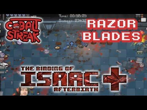 Afterbirth+ #81 - Razor Blades - Cobalt Streak