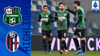 Sassuolo 1-1 Bologna | Caputo Rescues a Point for Sassuolo Against Bologna | Serie A TIM