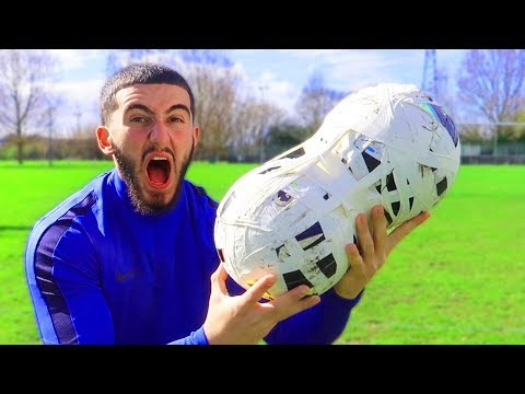 86fc7a47b73 What Happens When You Duct Tape Two Footballs Together? - YouTube