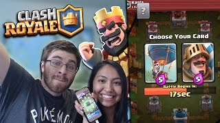 """NEW CLASH ROYALE """"DRAFT CHALLENGE"""" w/ KARLA! Finally Winning The Crown Duel ;D"""