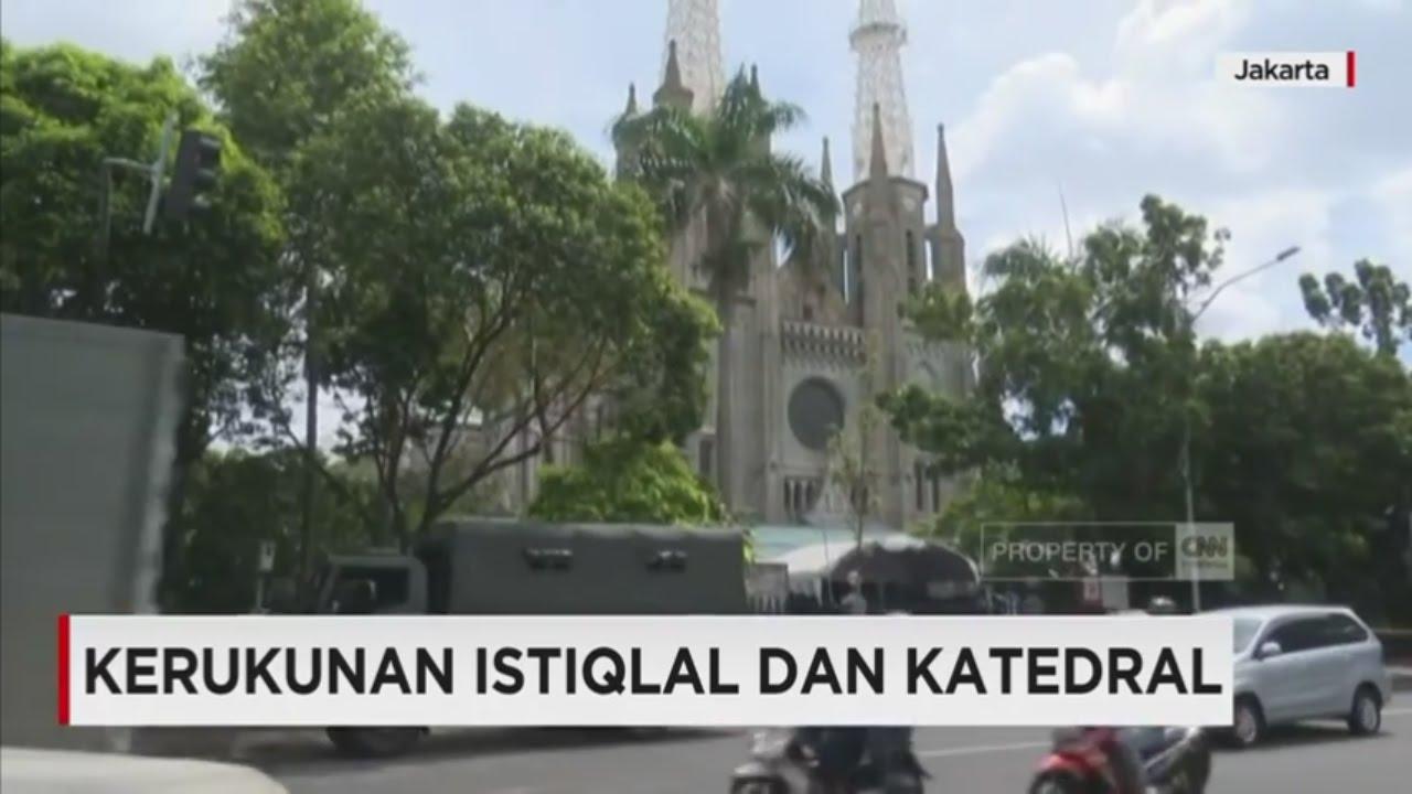 Kerukunan Istiqlal Dan Katedral Youtube