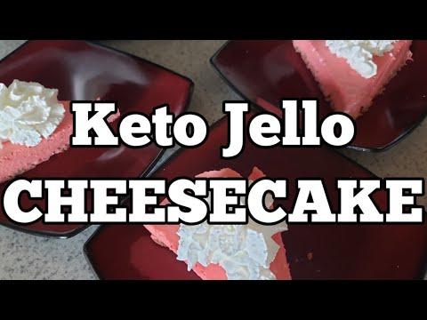 keto-jello-cheesecake!