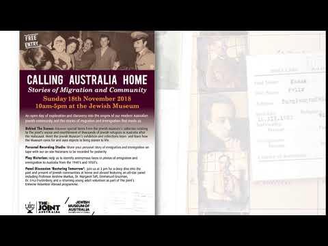 JDC-Melbourne Calling Australia Home