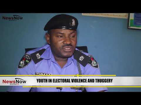 YOUTH IN ELECTORAL VIOLENCE AND POLITICAL THUGGERY