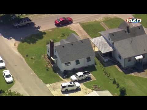 WATCH: KSP executes search warrant at Bardstown home of Brooks Houck's grandmother
