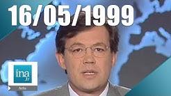 20h France 2 du 16 mai 1999 - violences à Vauvert dans le Gard | Archive INA