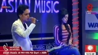 Ami chirokal by Bd idol Pankaj wid nongor Asn tv