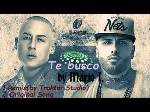 Cosculluela Feat Nicky Jam-Te busco (REMIX + Original)