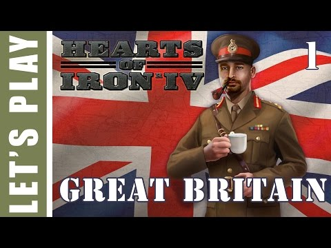 Hearts of Iron IV Great Britain 1