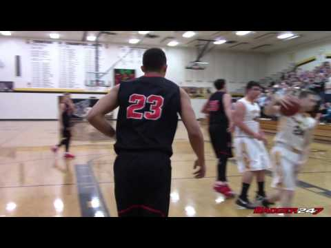 Wisconsin Commit Kobe King Scores 32 in 27 Minutes at Tomah