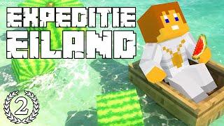 """Expeditie Eiland #2 - """"We hebben HONGER!"""" - Minecraft Reality"""