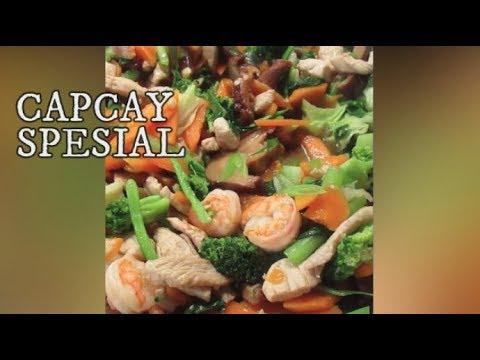 Resep Capcay Spesial Kuah Menu Arisan ~ Chinese-Indonesians Vegetable Dish Cap Cai II CLK