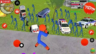EPIC Best Amazing Spider Stickman Rope Hero Game Simulator  / Android Game FHD screenshot 3