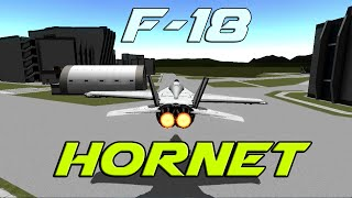 KSP - F-18 Hornet (Stock)