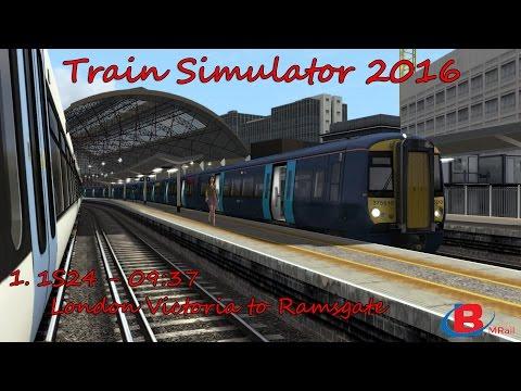 Train Simulator 2016: 1S24 - 09:37 - London Victoria to Ramsgate