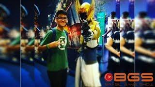 Brasil Game Show 2017 - Mostrando os estandes do Evento!
