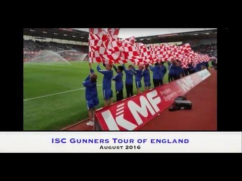 ISC Gunners UK Trip   August 2016!