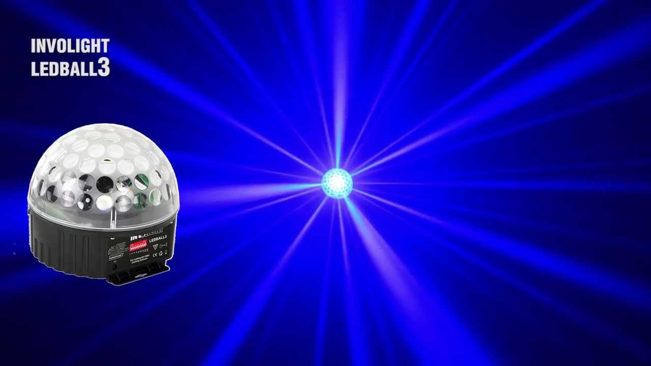 Involight ledball3 инструкция