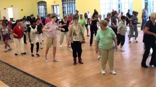DANCING HEART Samba Line Dance @ 2012 Lake Ashton Workshop with Choreographer Ira Weisburd.m2ts