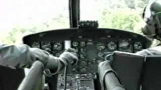 Bell Uh-1h Nap Of The Earth Flight Training.