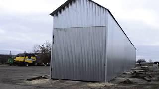 видео Ангарные ворота