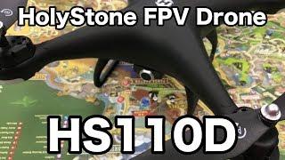 ドローン HS110D FPV Drone セッティング