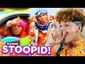 BEST SONG YET?! 6IX9INE - STOOPID FT. BOBBY SHMURDA (Official Music Video) REACTION!