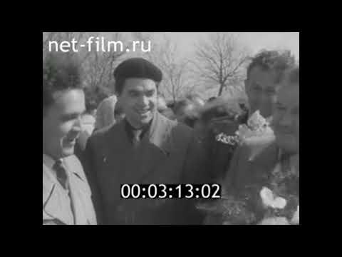1959г.  Калининград. польская делегация 1 мая