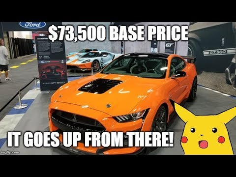2020 GT500 price REVEALED! | Will it be WORTH THE PRICE?