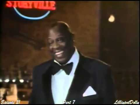 George Kirby as Louis Armstrong (New Orleans) on Dolly Show 1987/88 (Ep 21, Pt7)