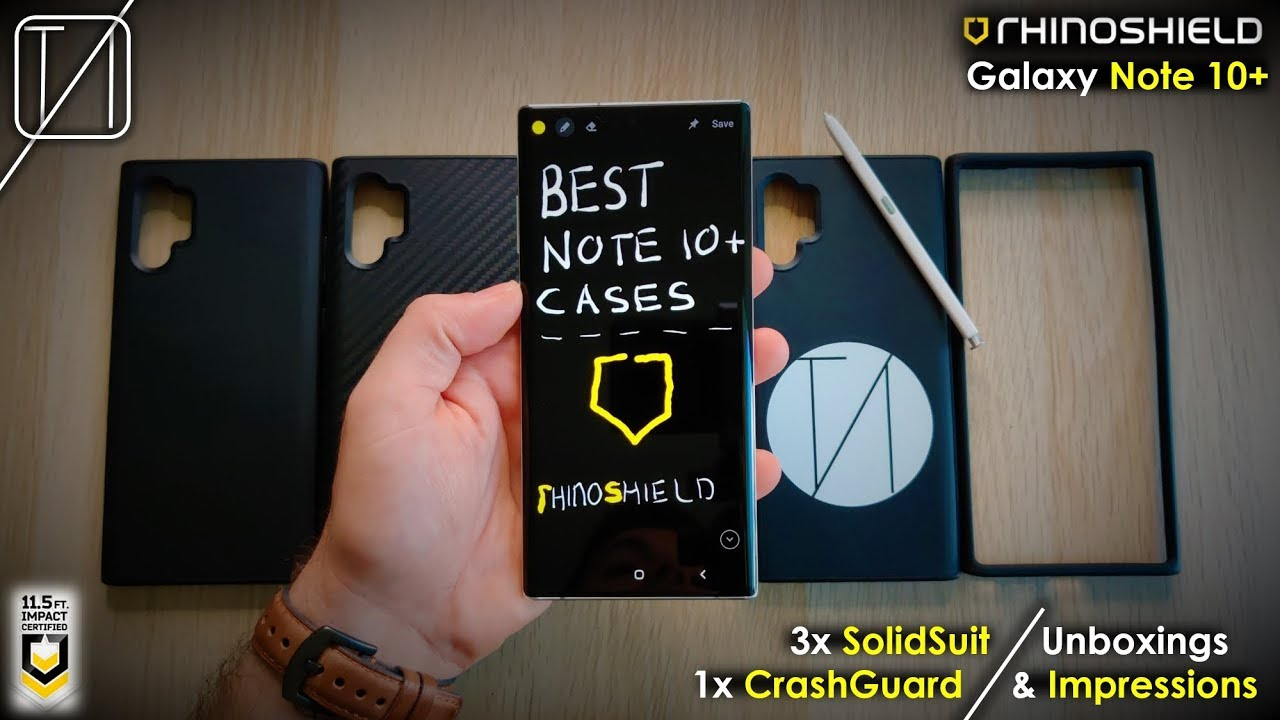 Best Iphone 11 Pro Max Cases Rhinoshield Solidsuit Mod Nx Youtube