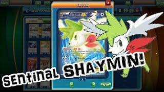 Sentinal Shaymin EX! Pokemon Trading Card Game Online