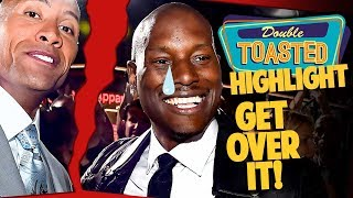 TYRESE GIBSON TRASH TALKS DWAYNE JOHNSON ABOUT HOBBS & SHAW BOX OFFICE - Double Toasted