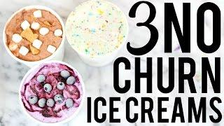 3 NO CHURN ICE CREAM RECIPES: BAKING WITH MEGHAN